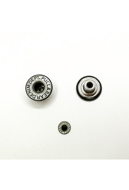 middle hole shank button with rivet