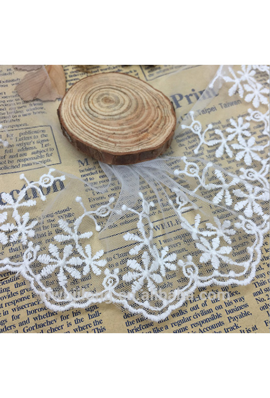 embroidery meah lace